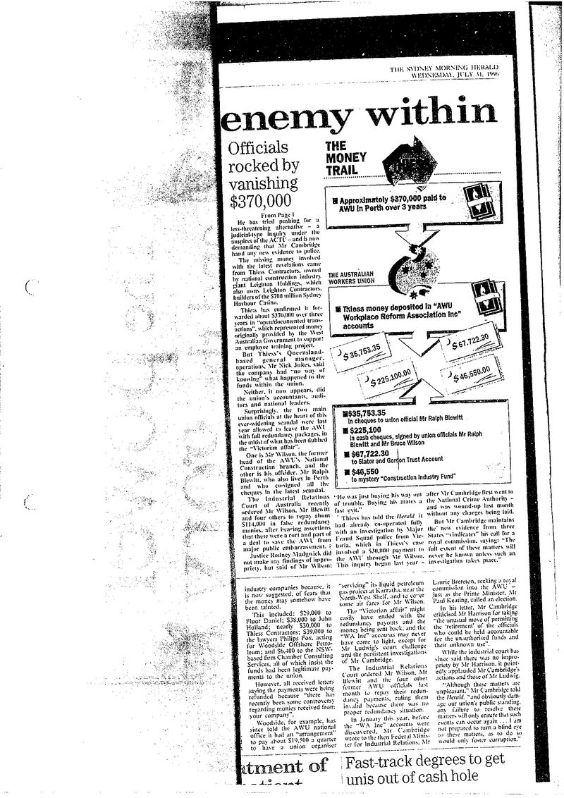 SMH graphic july 96