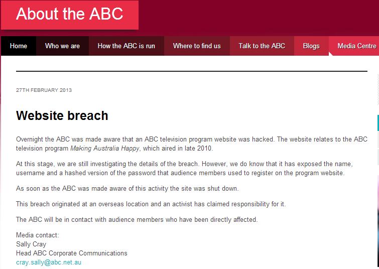 Abc breach