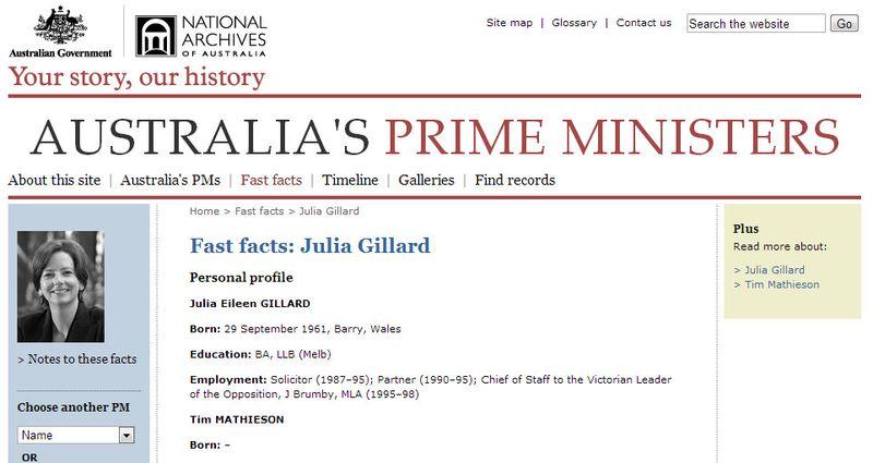 Gillard archives