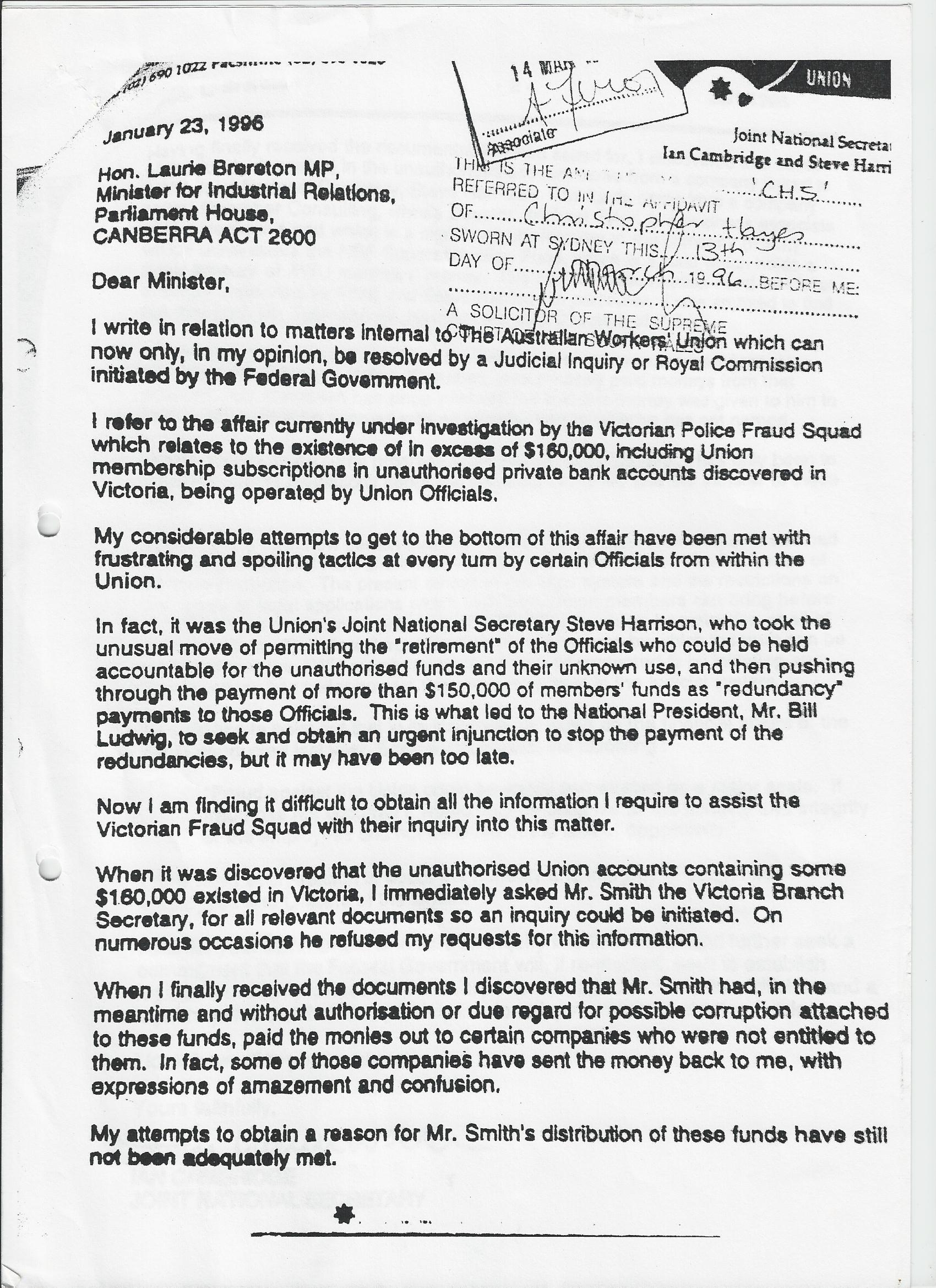 6a0177444b0c2e970d017d3cc8c572970c pi 123 the awu scandal the property purchase slater and gordon fees written falaconquin
