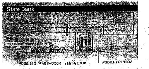 Redundancy cheque collins or barnes