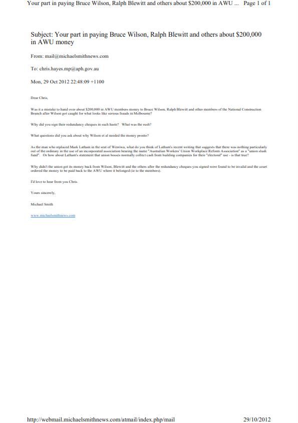 Chris hayes letter 29 october 2012_001