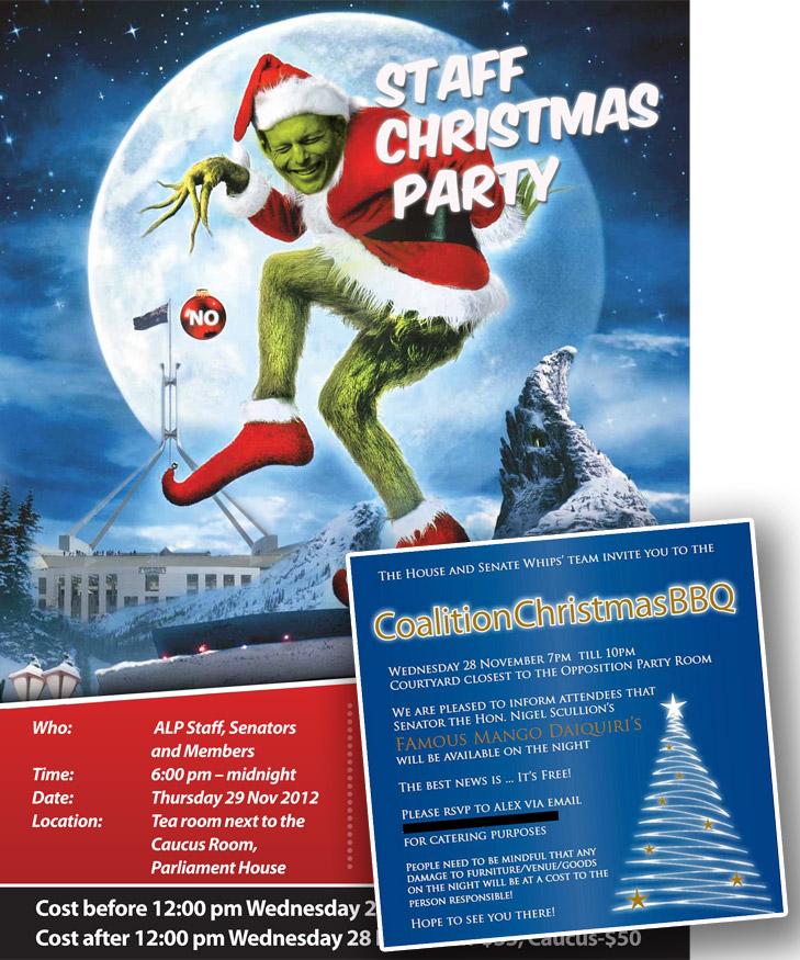 Christmas Party McTernan Style - Michael Smith News