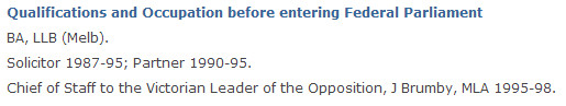 Gillard aph website