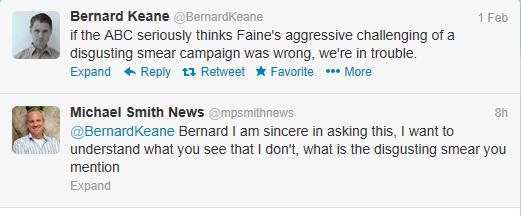 Bernard keane tweet