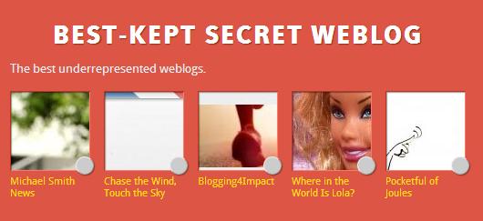 Bloggies best kept secret