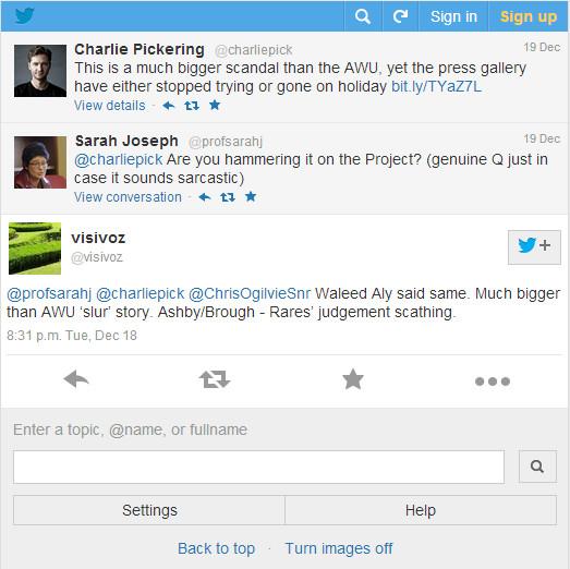 Charlie pickering tweet