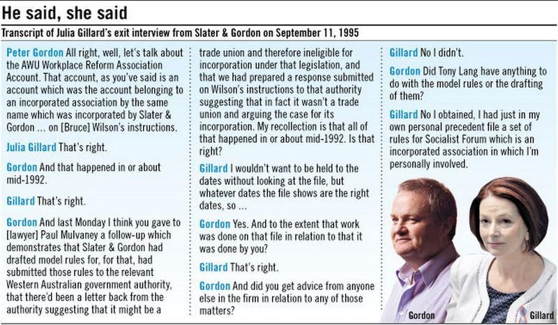 Gillard fin review