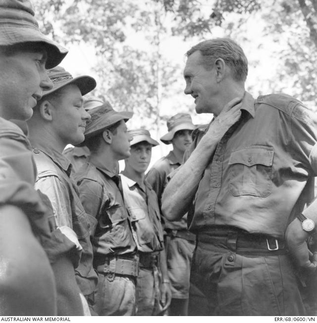 John gorton in vietnam 1ATF