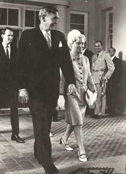 Sir john and lady gorton