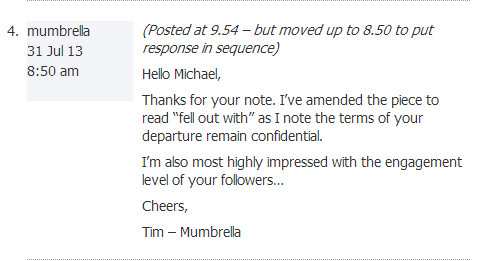 Tim mumbrella