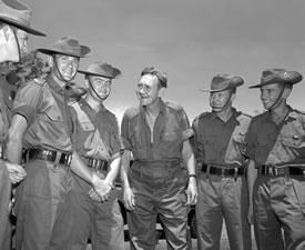 John gorton in Vietnam