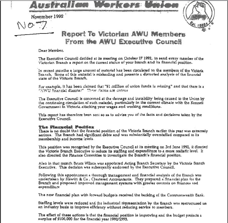 Awu turnaround magic