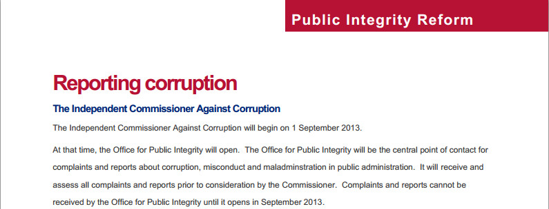 Sa corruption