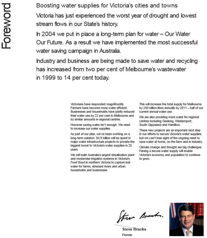 Steve bracks water man