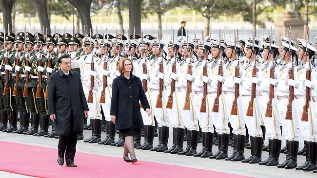 Gillard china