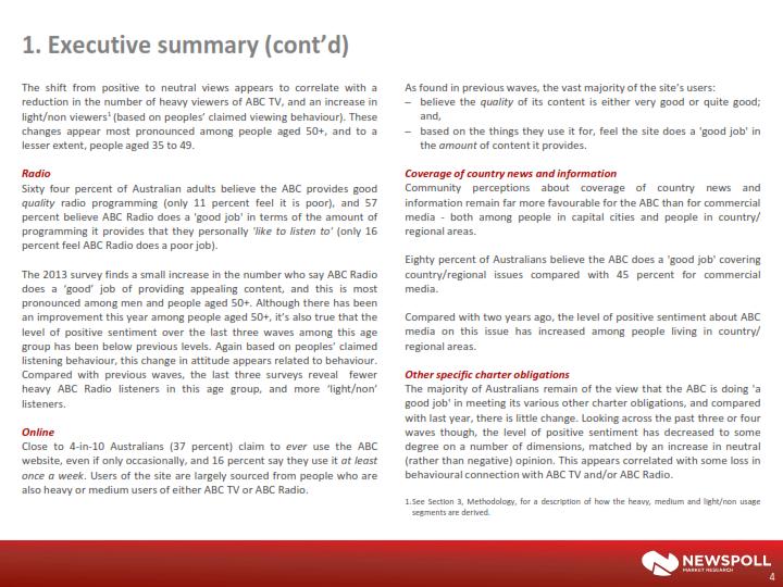 market analysis summary examples