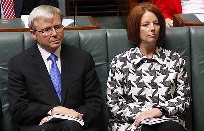 Rudd gillard two