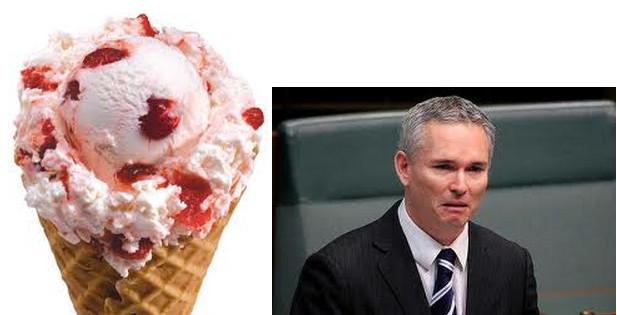 Craig and the ice cream
