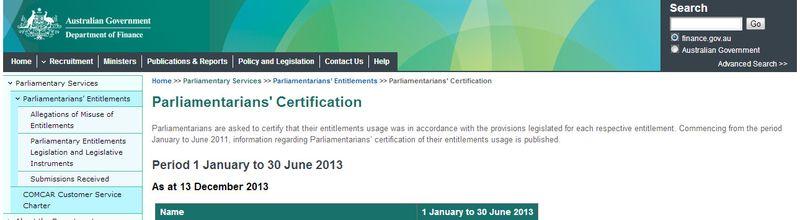 Certification thomson