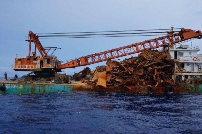 HMS Perth scrapped