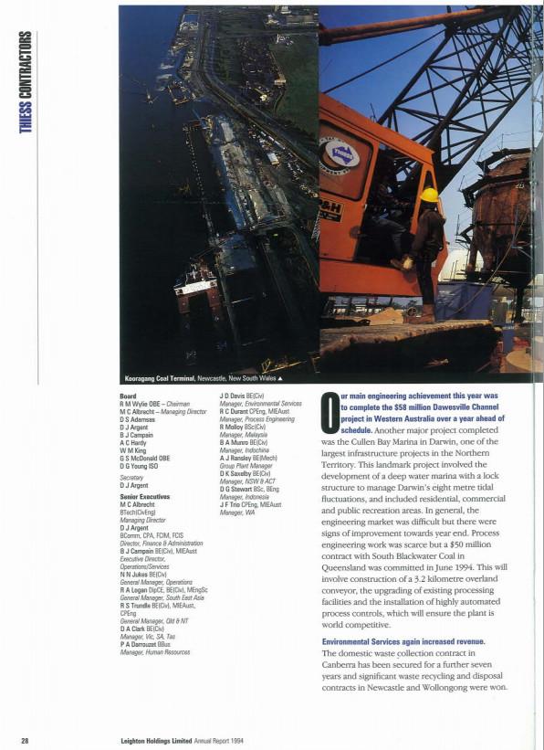 Annual report 94