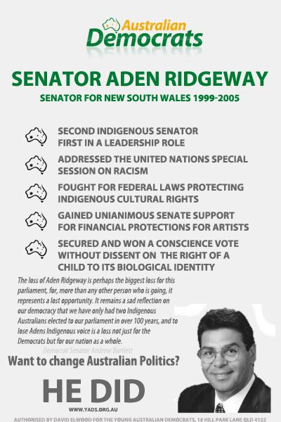 Aden Ridgeway stuff