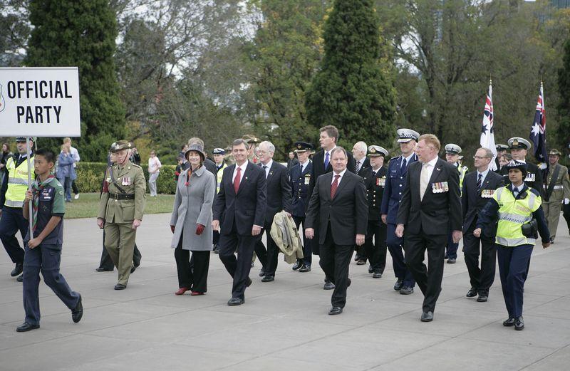 Gillard 2009 from military