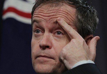 Bill shorten winking