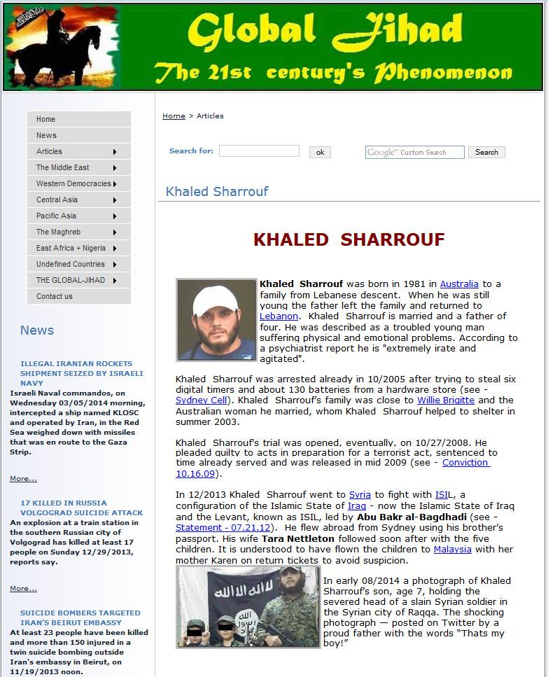 KHALED SHARROUF