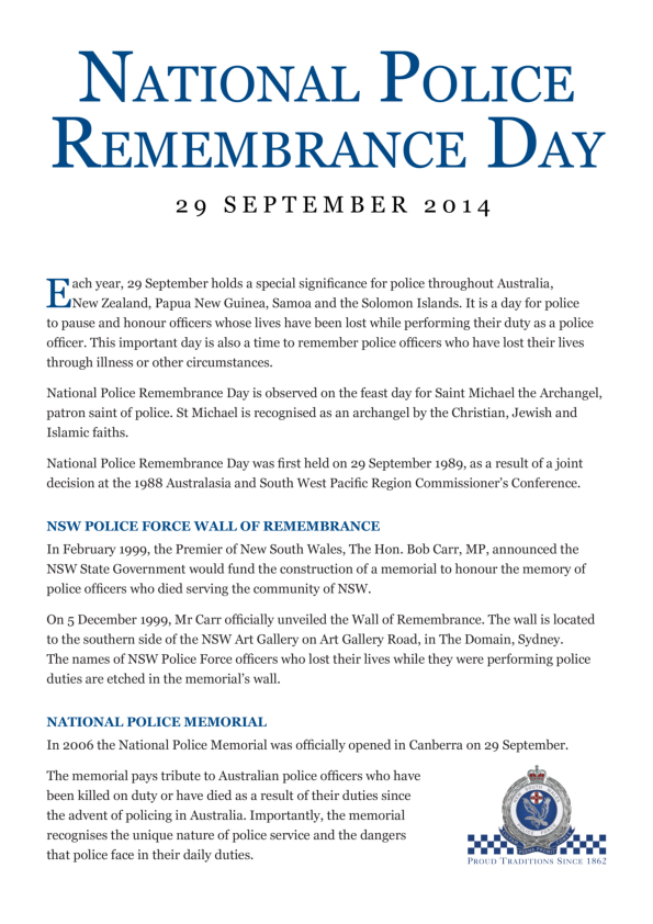 Police remembrance day_001
