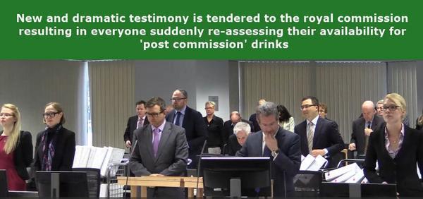 New and dramatic testimony