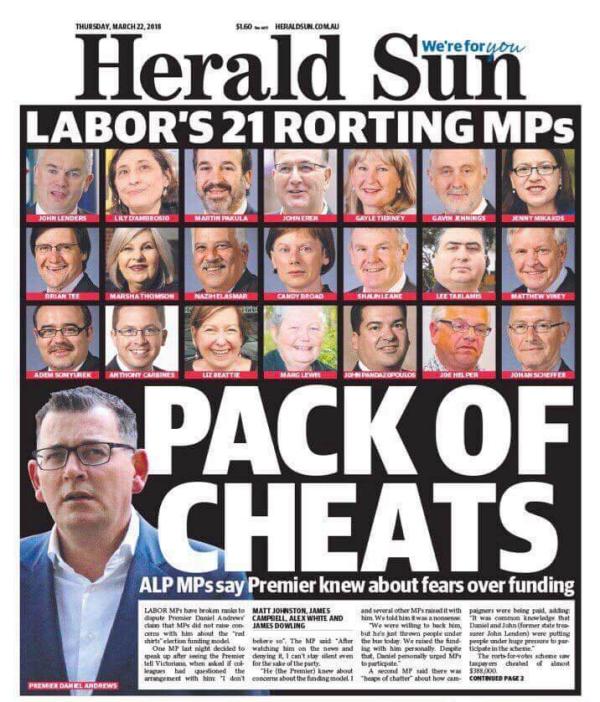 Shocking Herald Sun cover-up   Australian Newsagency Blog