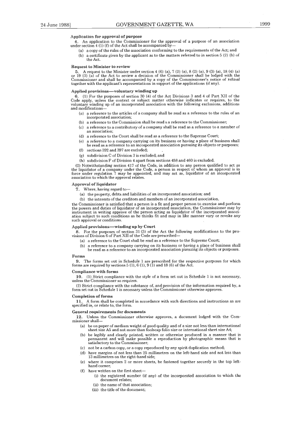 Wa government gazette re ass  inc_005