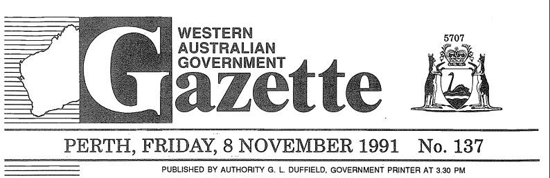 1991 gazette