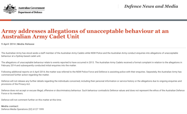 this disgraceful saga of child sexual abuse took place under the watch of general david morrison michael smith news - Enquiry Muster