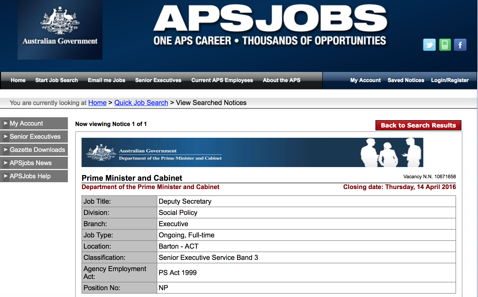 The PM employs Lin Hatfield-Dodds from The Greens as
