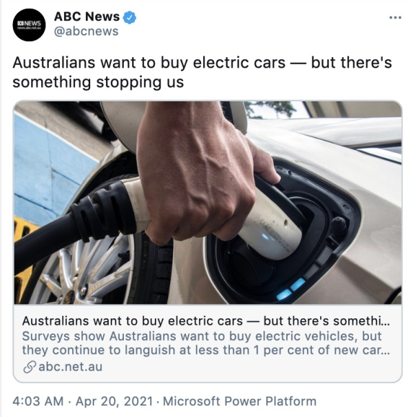 Their ABC lecturing you about how you really want to buy ...